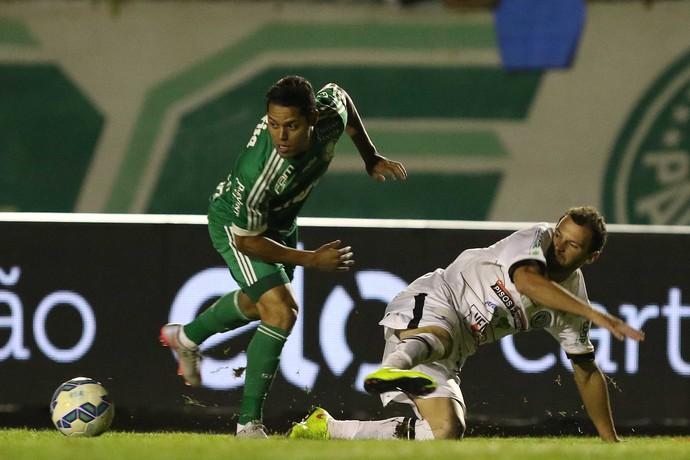 ASA x Palmeiras João Paulo (Foto: Célio Messias/Estadão Conteúdo)