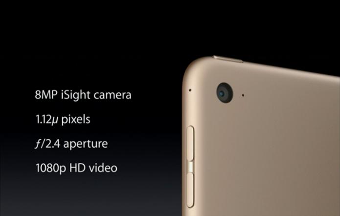 Novo iPad Air ganhou melhorias na câmera e uma versão dourada (Foto: Reprodução) (Foto: Novo iPad Air ganhou melhorias na câmera e uma versão dourada (Foto: Reprodução))