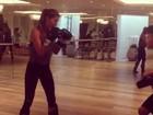Gisele Bündchen mostra aula de luta: 'Melhor maneira de desestressar'