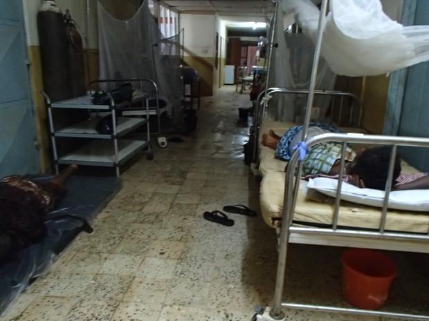 Médico trabalhou em hospital com condições precárias, na cidade de Kenema. (Foto: Maurício Ferri/Arquivo pessoal)