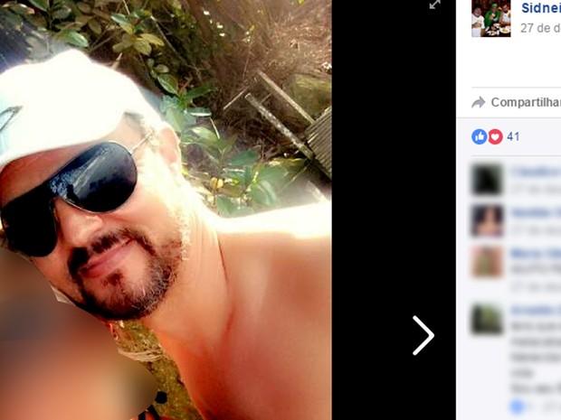 Sidnei Araujo foi o autor da chacina em Campinas (Foto: Reprodução / Facebook)