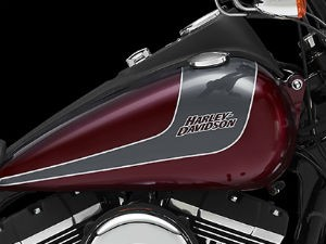 Street Bob tem a tradição de motocicletas custom com seu clássico estilo Bobber (Foto: Divulgação)