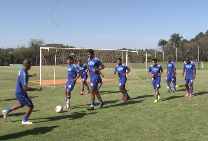 treino Londrina (Foto: Reprodução/RPC)