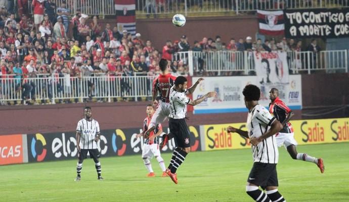 Joinville x Corinthians (Foto: José Carlos Fornér/JEC)
