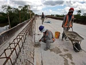 Construção Civil foi um dos setores da economia que mais cresceu. Belém Pará Emprego (Foto: Cristino Martins/ Amazônia Jornal)