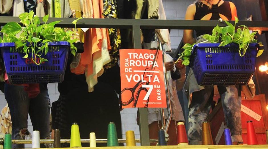 """A Re-Roupa ensina a """"reciclar"""" e transformar roupas em novas peças (Foto: Divulgação)"""