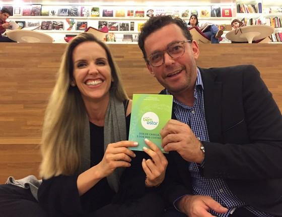 Mariana Ferrão e Fernando Rocha estão há seis anos no ar com o matinal Bem estar, na manhãs da TV Globo  (Foto: Luiza Figueira de Mello)