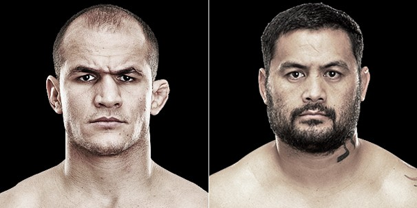 Junior Cigano e Mark Hunt farão o co-evento principal do UFC 160, no dia 25 (Foto: Divulgação/UFC)