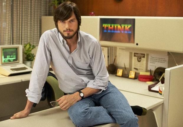 Ashton Kutcher interpreta Steve Jobs (Foto: Divulgação)