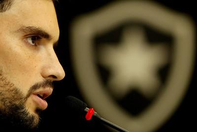 Rodrigo Pimpão Botafogo (Foto: Vitor Silva / SSPress)