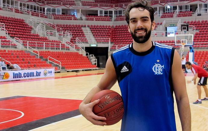 basquete flamengo benite treino (Foto: Daniele Rocha)