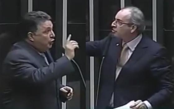 Anthony Garotinho e Eduardo Cunha (Foto: Reprodução)