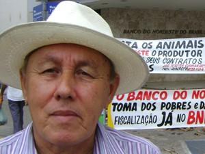 Associação pede o perdão das dívidas dos produtores rurais na Paraíba (Foto: Taiguara Rangel/G1)