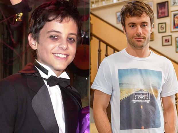 O antes e depois de Kayky Brito  (Foto: Gianne Carvalho e Arthur Seixas / TV Globo)