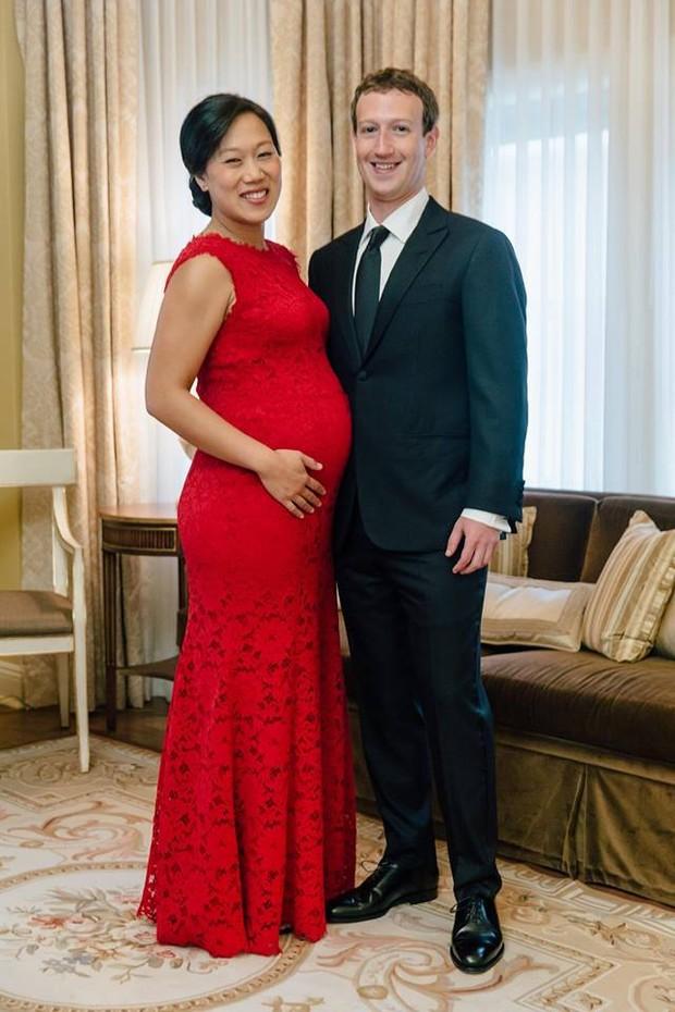 Mark Zuckerberg e a mulher Priscilla Chan (Foto: Reprodução/ Facebook)