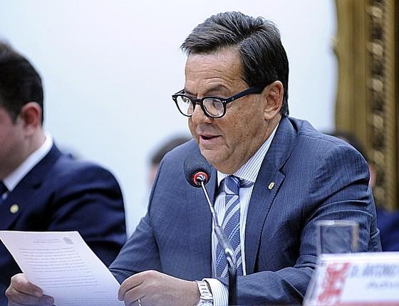 O deputado Sergio Zveiter (PMDB-RJ), relator na Câmara da denúncia oferecida pela Procuradoria Geral da República contra o presidente Michel Temer  (Foto: Alex Ferreira / Câmara dos Deputados)