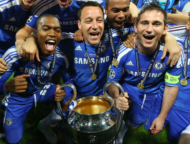 Terry Lampard Chelsea Liga dos Campeões (Foto: Getty Images)