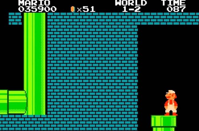 O sentido do Minus World de Super Mario Bros. é desconhecido até hoje (Foto: Reprodução/YouTube)