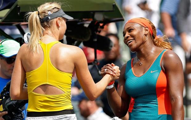 Serena Williams tênis contra Sharapova Miami (Foto: Reuters)