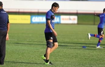 Curtinha: recuperado, Viçosa pode ser usado pelo Atlético-GO contra o Goiás