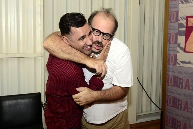 Rodrigo santana e Otávio Muller (Foto: Roberto Teixeira / EGO)