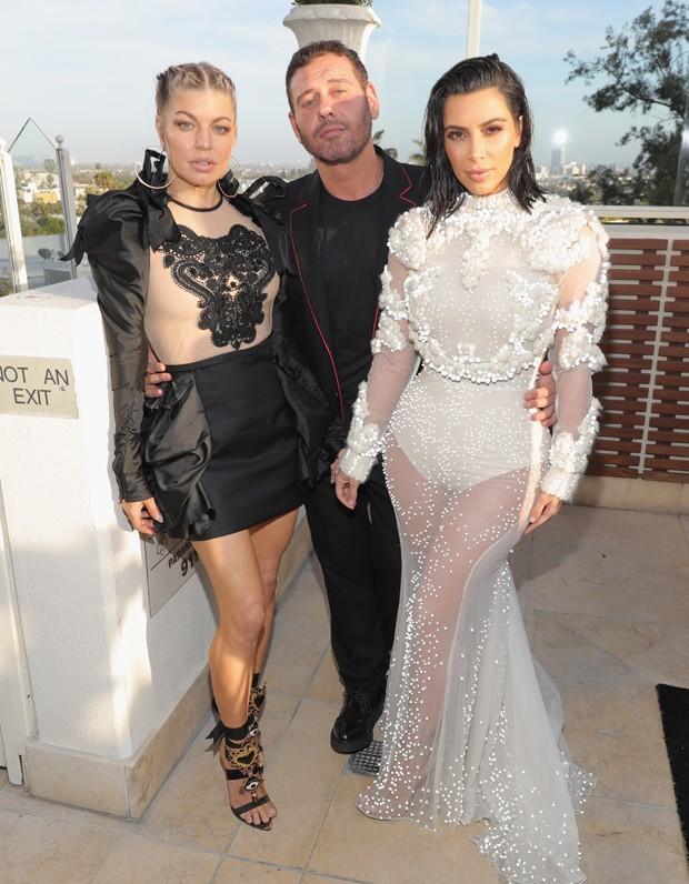 Fergie, Mert Alas e Kim Kardashian  (Foto: Getty Images)