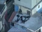 Força de segurança faz ação e bloqueia saídas da Maré, Rio