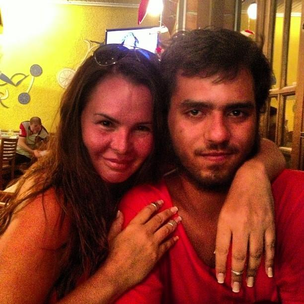 Cristina Mortágua posta foto com o filho, Alexandre (Foto: Instagram / Reprodução)