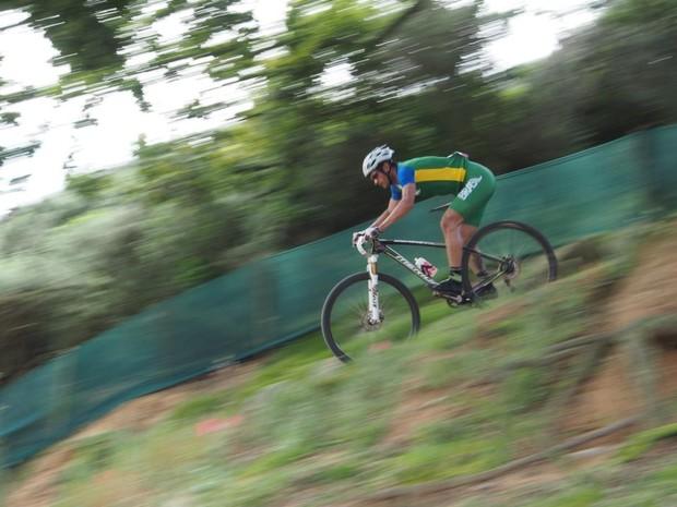 Rubens Valeriano Olimpíadas de Londres (Foto: Rubens Valeriano/Arquivo Pessoal)