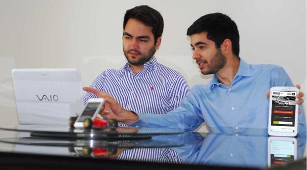 Acima, Everton Bandeira e Victor Ramos: os fundadores da startup (Foto: Divulgação)