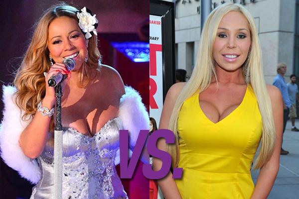 Mariah Carey vs. Mary Carey (Foto: Divulgação)