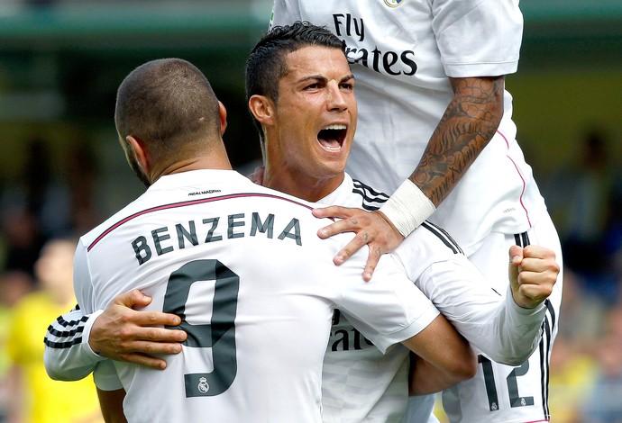 Cristiano Ronaldo, Villareal x Real Madrid (Foto: AP)