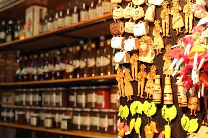 Local reúne peças de artesanato produzida em várias cidades piauienses  (Foto: Katylenin França/Gshow)