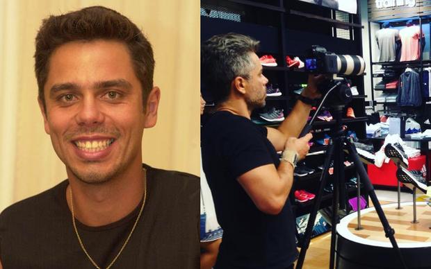 Rogério Dragone (Foto: TV Globo e reprodução Instagram)