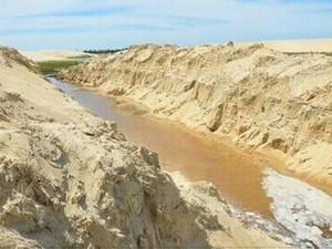 Semar louvou iniciativa dos amigos de ajudar a Lagoa do Portinho, no Piauí (Foto: Tibério Nunes/Arquivo Pessoal)