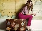 Bianca Müller posa em ensaio de moda para o EGO e mostra a versatilidade da camisa social