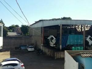 Um dos locais onde foram cumpridos mandados no estado (Foto: Divulgação/MPRS)