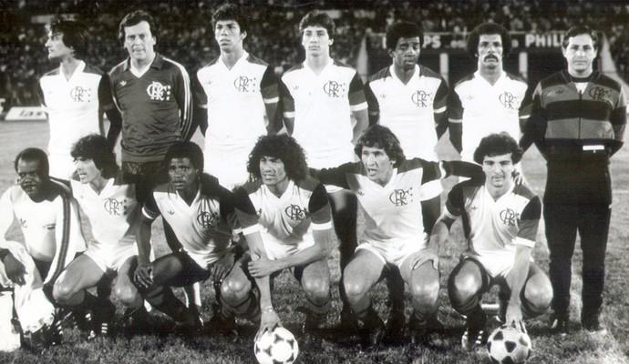 flamengo 1981 uniforme branco (Foto: Divulgação)