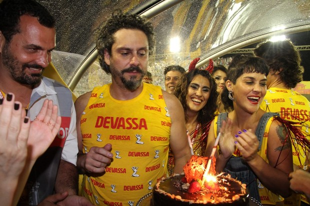 Aniversário Alexandre Nero (Foto: Cleomir Tavares/ Divulgação)