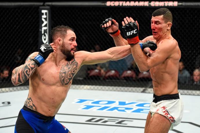 Santiago Ponzinibbio x Nordine Taleb UFC Halifax (Foto: Getty Images)