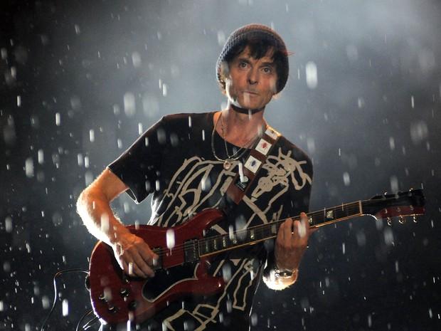 A-ha toca no Palco Mundo antes de Katy Perry (Foto: Alexandre Durão/G1)