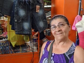 A família de Maria Francisca se tornou ainda mais cuidadosa com a fabricação de jeans. (Foto: Katherine Coutinho / G1)