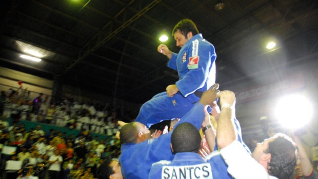 joão derly despedida judô (Foto: Fernanda Davoglio/Sogipa)