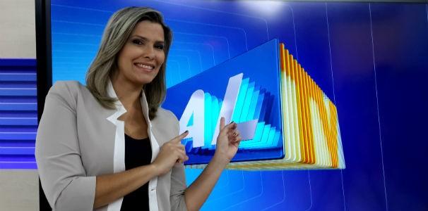 Thaíse Cavalcante apresenta o ALTV 1ªEdição  (Foto: Reprodução/TV Gazeta)