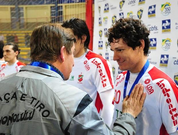 Ceccatto Atlântico Erechim campeão Liga Sul 2013 (Foto: Ricardo Artifon/CBFS)