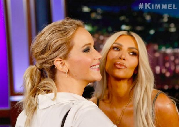 J Lawrence e Kim Kardashian (Foto: Reprodução/Instagram)