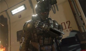 Soldados de 'Call of Duty: Advanced Warfare' usam exoesqueletos nas batalhas (Foto: Divulgação/Activision)