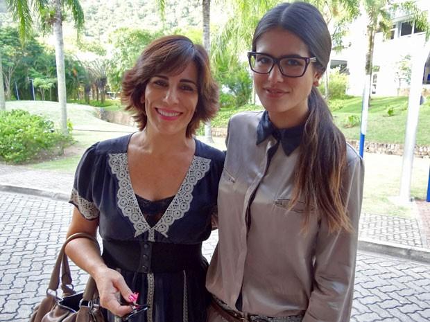 Gloria Pires e Antonia Morais (Foto: Guerra dos Sexos / TV Globo)