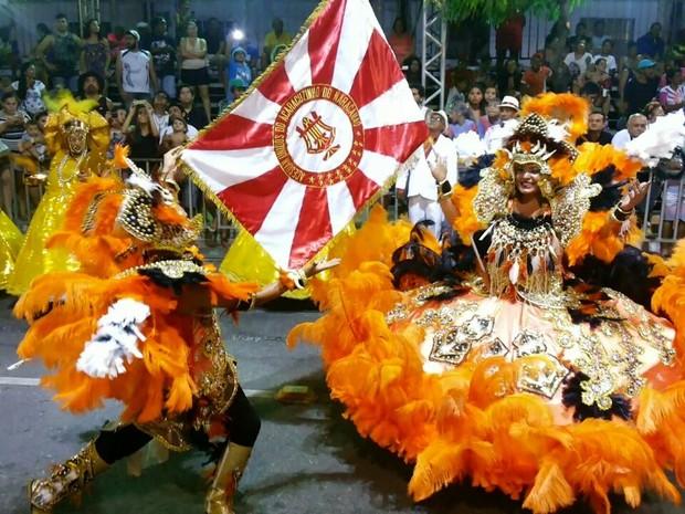 escola de samba unidos do acaracuzinho (Foto: Unidos do Acaracuzinho/Divulgação)