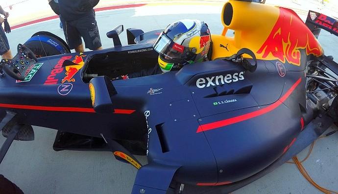 Sergio Sette Camara Red Bull F1 (Foto: Albert Resclosa Coll)